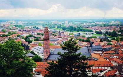 德国留学最受欢迎的大学城TOP10 排名第一的居然是它