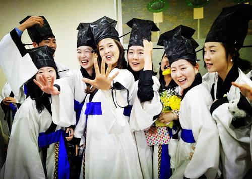 报告显示 在韩国际生连续2年增幅超过10%