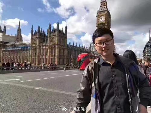 紧急寻人 一中国留学生在英国爱丁堡失联