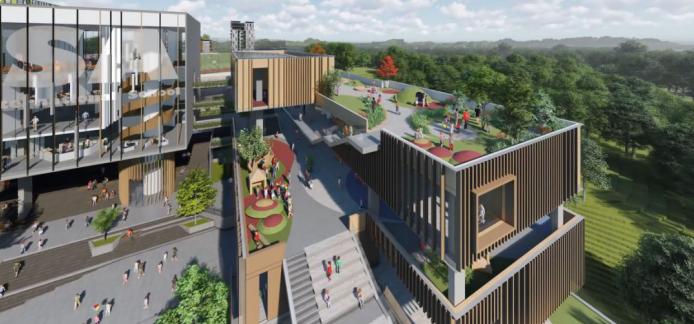 爱莎科学城校区将于2020年9月正式投入使用!