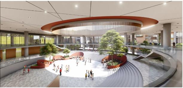 广州爱莎国际学校科学城校区,突破界限打造新式环保森林学校