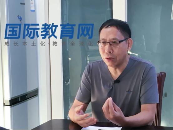 王庆国会长:国际教育大势所趋  用法律维护行业机构共同权益