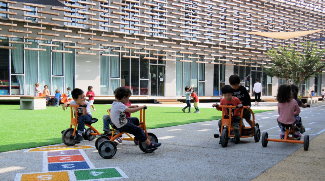 北京法国国际学校:一个新的城市景观!