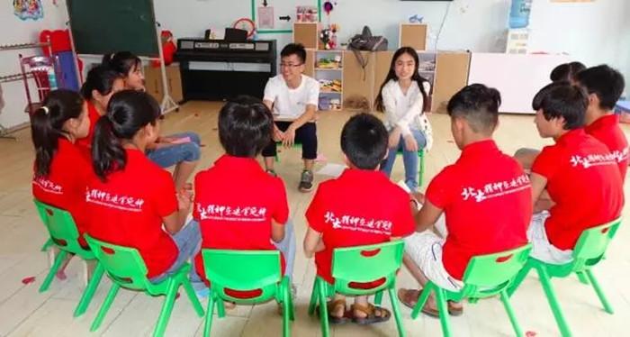 """2015北大附属实验学校""""未名之梦""""成长训练营开营啦!"""