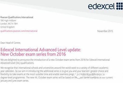 国际校学生必知:A-level考试改革一年考三次