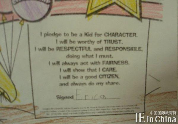 看美国小学教室墙上贴了啥?从细节看中美教育差异