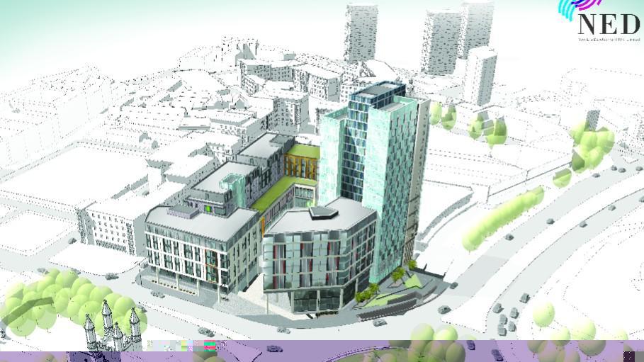 """英国谢菲尔德重金打造""""中国城"""" 将建高档学生公寓"""