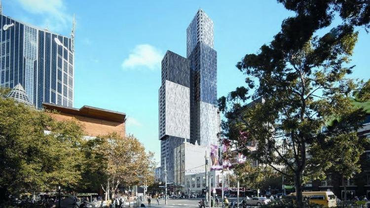 澳洲留学新福利 墨尔本建最高学生公寓