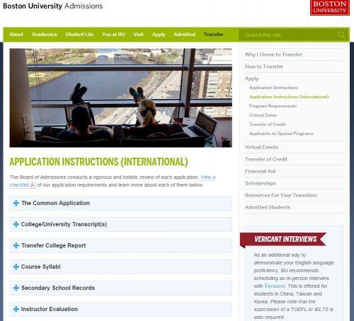 美国大学流行视频面试留学生