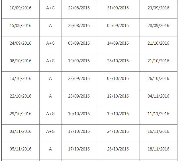 2016年雅思考试时间及报名时间表