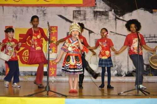 """美国巴尔的摩国际学校举办""""中国文化周""""活动"""