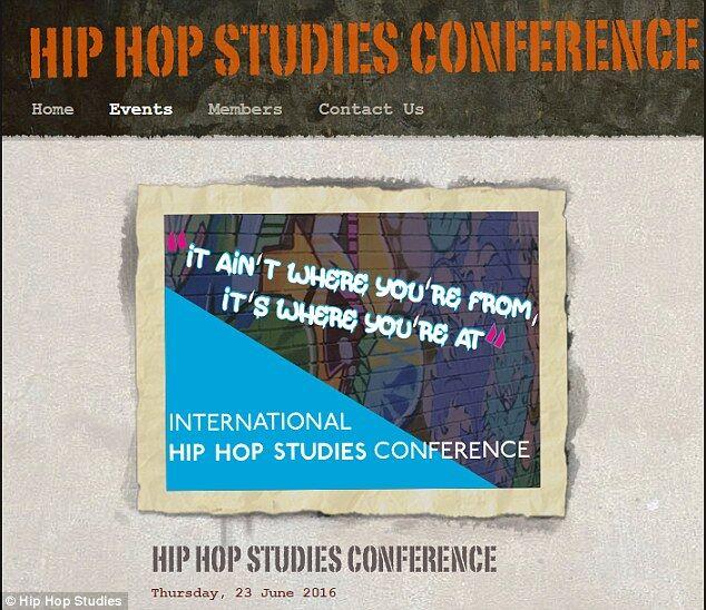"""剑桥大学6月将首开""""嘻哈会议"""" 惹争议"""