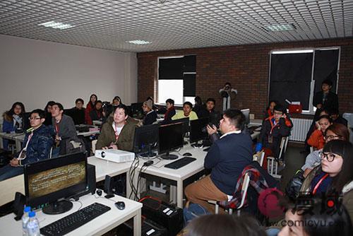 泰国兰实大学冬令营师生来吉林动画学院交流访问