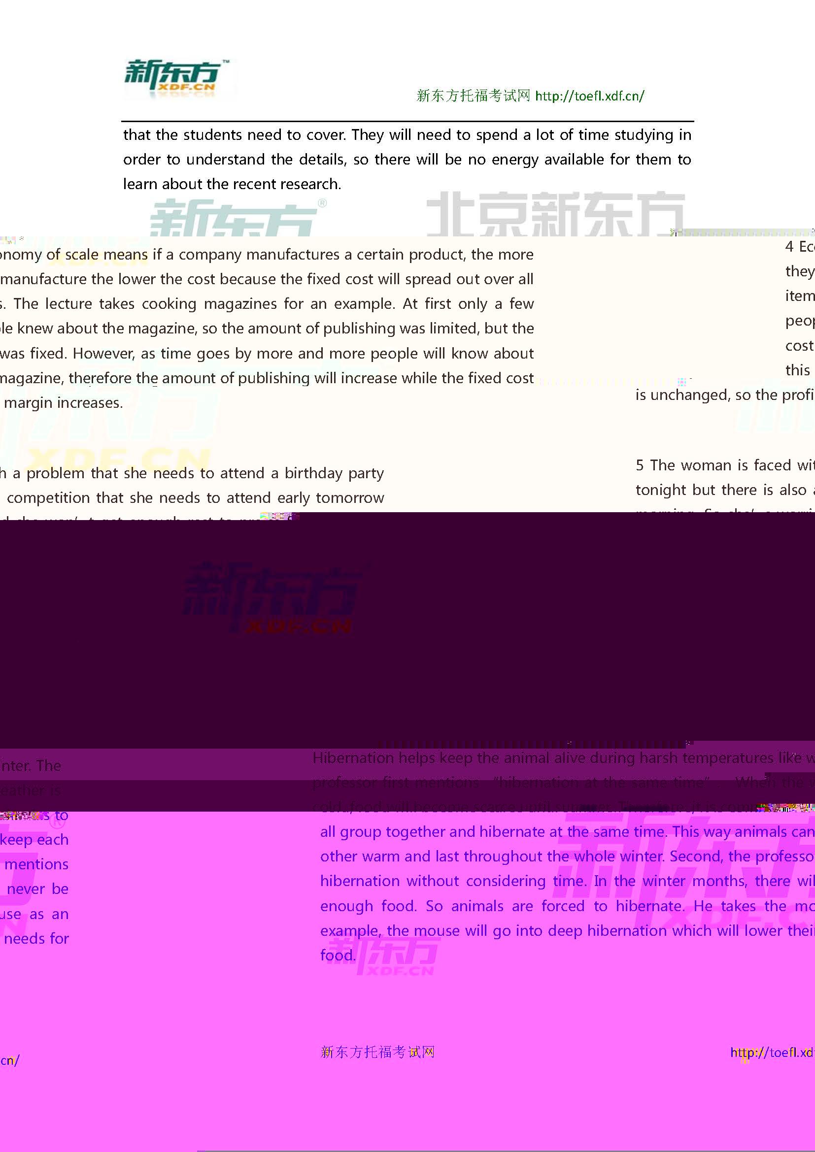 2016年2月28日托福口语真题