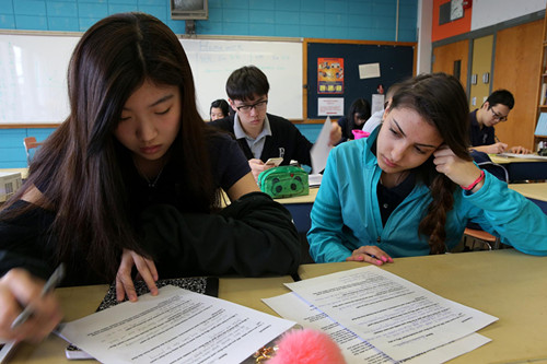 中国留学生涌入美国私立中学