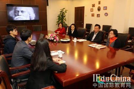 韩国际学校赴格致中学访问交流