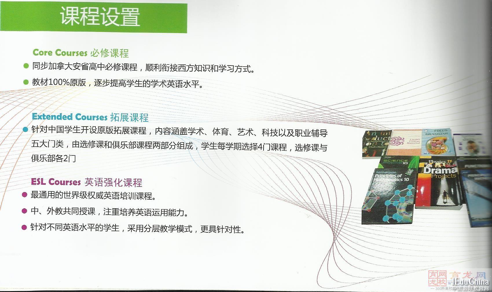 上海燎原实验学校国际部课程设置