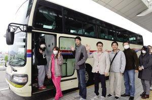 日本福冈最后一批中国留学生撤出