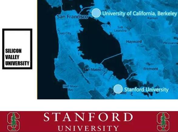 扒一扒硅谷那些令人垂涎的大学和公司