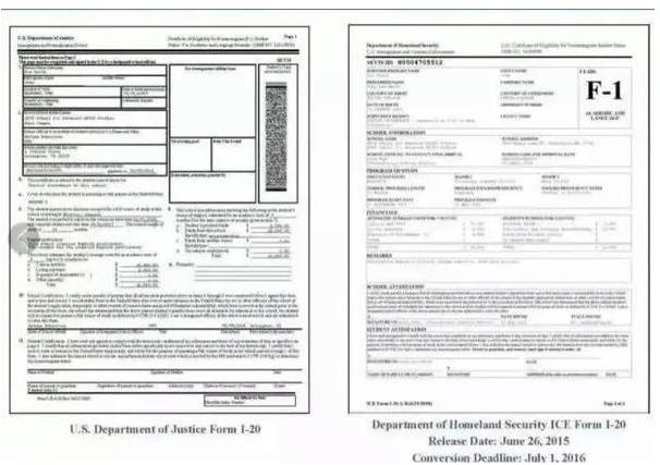 美国留学生 务必在7月1日之前更换I-20