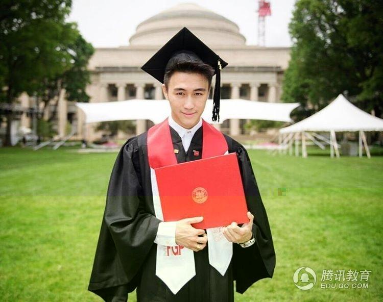 人帅多金  赌王儿子麻省理工硕士毕业