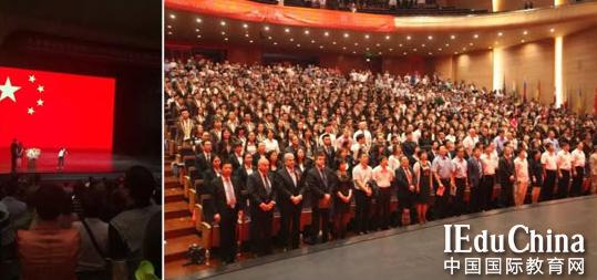 362名毕业生参加毕业典礼 480份世界各国的通知书已收到