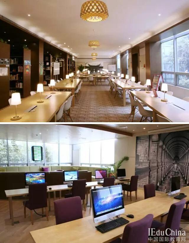 沪上最美图书馆  上海包玉刚实验学校图书馆