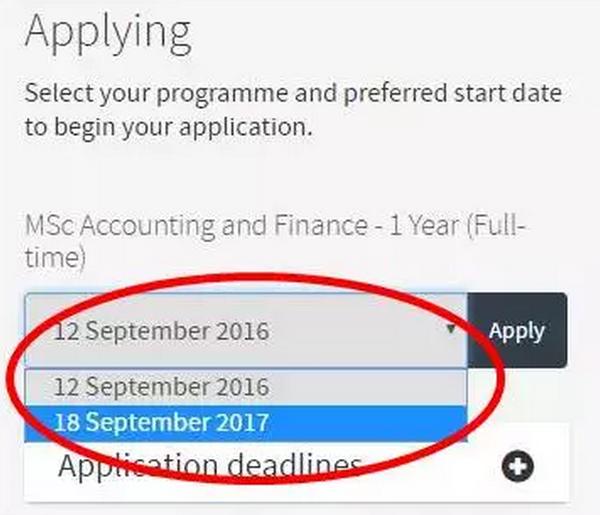 英国部分大学已开放2017/2018入学申请