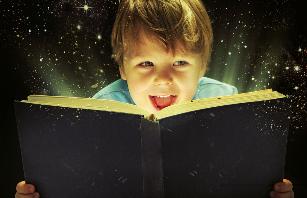 美国孩子的阅读量达到中国孩子的六倍以上