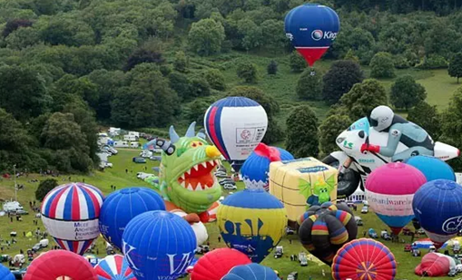 英国布里斯托:相约浪漫气球之旅