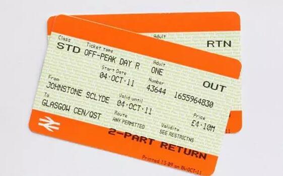 英国火车票上调 留学费用将提高