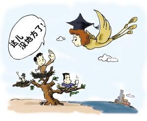 留学已毕业 反倒难选择
