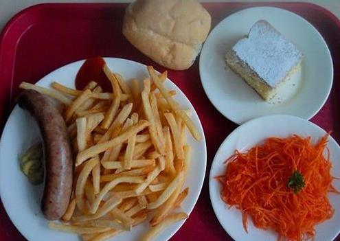 各国留学生们的日常饮食是什么样子?