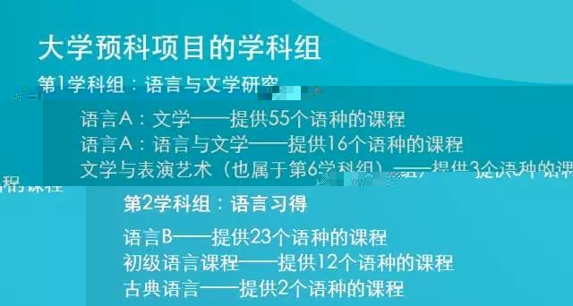 IB中文课程是语文课吗?学什么?