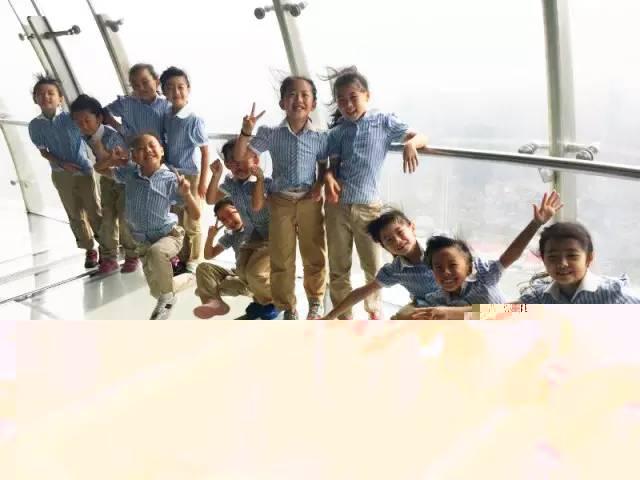 尚德实验学校国际部小学生探访东方明珠和上海博物馆
