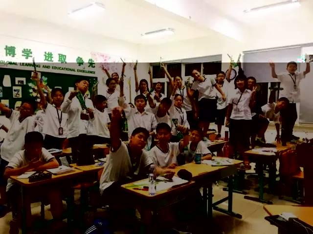 上海枫叶国际学校初中部 美女英语老师谈工作体会