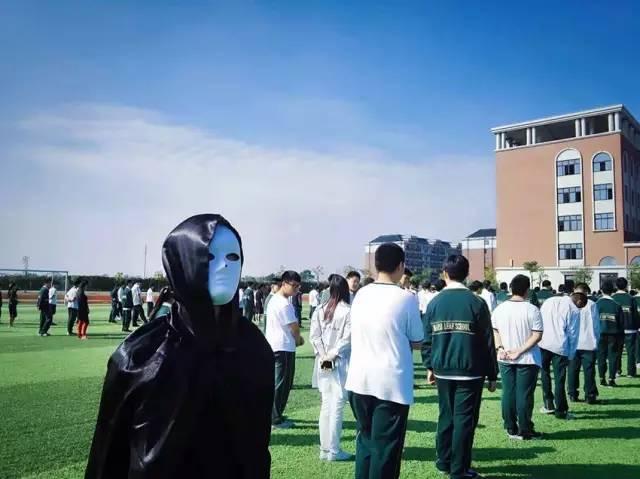上海枫叶国际学校万圣节活动气氛热烈