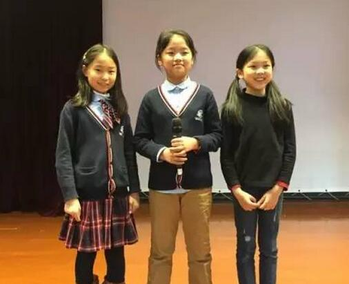上海星河湾双语学校四年级举行英语拼字比赛