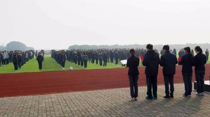 """上海枫叶国际学校举行""""一二 • 九""""纪念日活动"""