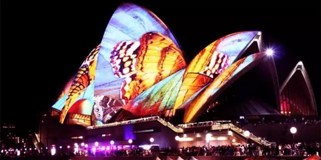 为了悉尼灯光节留学澳洲 原来去澳洲留学有这么多好处