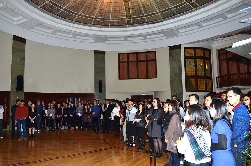 中国留学生新春招待会在哥德堡总领事馆举行