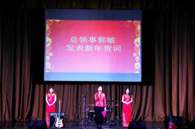 圣彼得堡中国留学生2017年春节联欢晚会成功举办