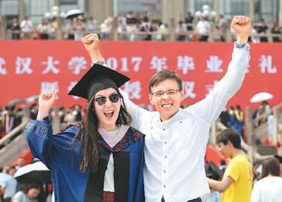 中国成热门留学国 求学就业更有保障