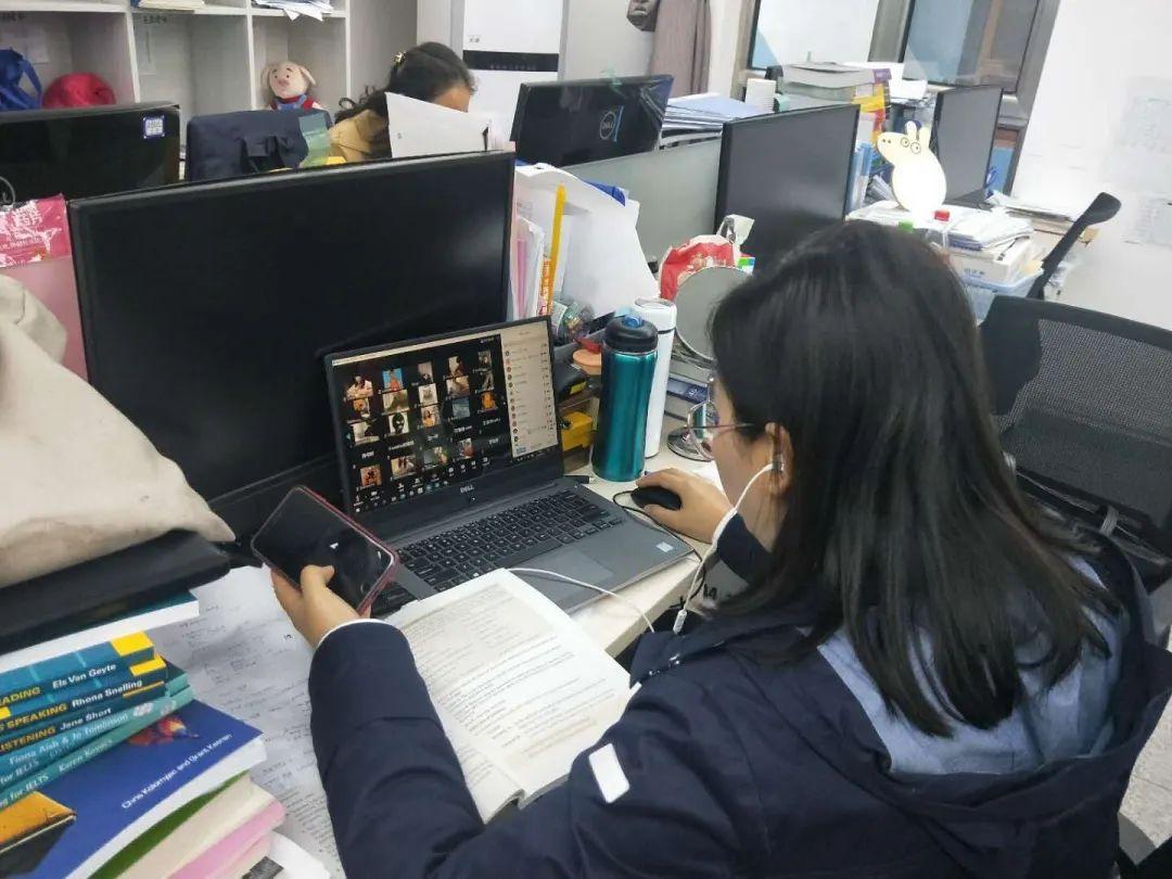 停课不停学∣北外国际高中2020年度春季期中考试顺利进行