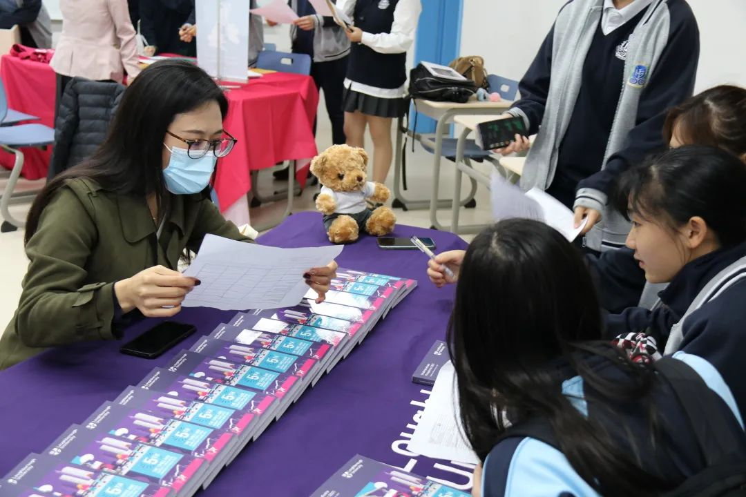 大学展College Fair||与大学招生官面对面Meeting College Admission Officers